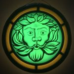 Green Man roundel