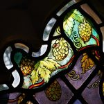 Salehurst Millenium window detail - Hops
